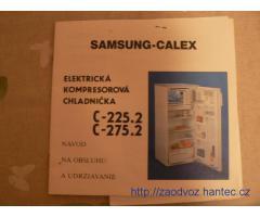 Funkční lednici Calex C225 s mrazícím boxem uvnitř