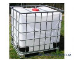 IBC kontejnery 1000l v kleci